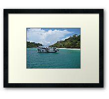 Floating in Thailand Framed Print