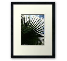 Tropical Spring Framed Print