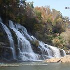 Rock Island Waterfall Haven by GraNadur