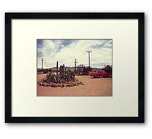 Mexican Desert Truck Framed Print