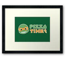 Pizza Time! Framed Print