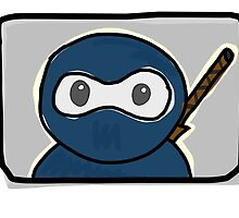 Blue Kawaii Ninja by BenVess