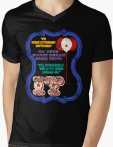 "It | ""Pennywise"" the clown (Grunge Ver.) Mens V-Neck T-Shirt"