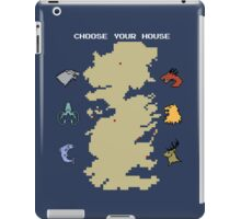 Choose Your House iPad Case/Skin