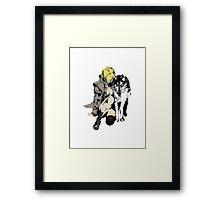 Sniper Wolf Framed Print