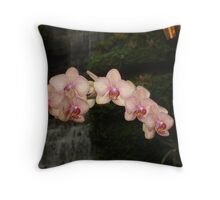 Fabulous Orchids Throw Pillow
