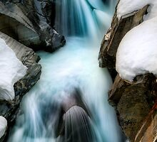 Winter Waterfall by camfischer