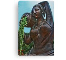Garden Sculpture Canvas Print