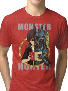 Hunter's Life (Souma Custom) Tri-blend T-Shirt