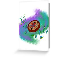 Colors of the Wind Greeting Card