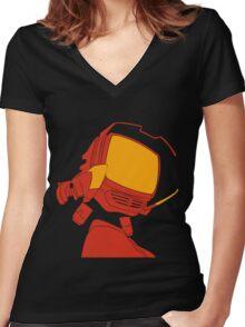 Kanti Women's Fitted V-Neck T-Shirt
