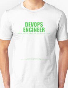 Devops Engineer (Green) - Sysadmin Day T-Shirt