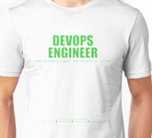 Devops Engineer (Green) - Sysadmin Day Unisex T-Shirt