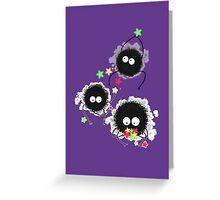 Sprites Purple Greeting Card