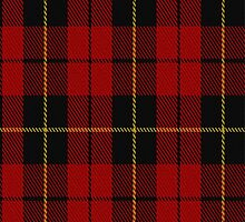 02052 Wallace Clan/Family Tartan Fabric Print Iphone Case by Detnecs2013