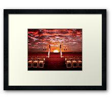 Portal to Happiness Framed Print