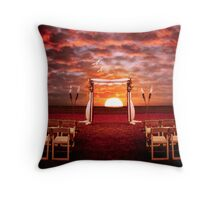 Portal to Happiness Throw Pillow