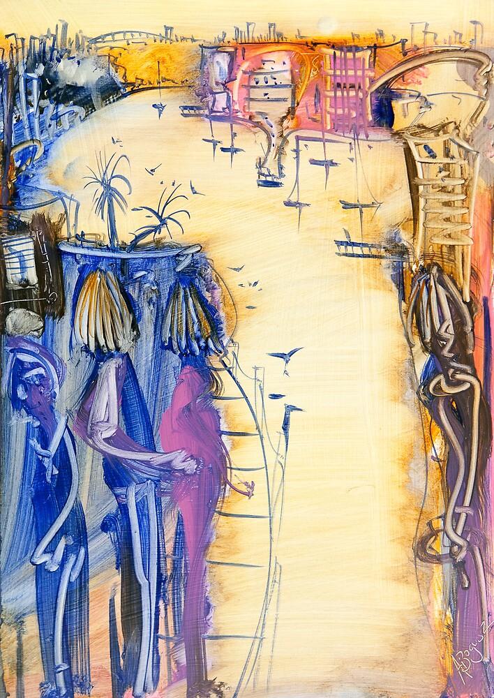 Morning walk by Adam Bogusz