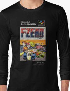 F-Zero Nintendo Famicom Box Art (NES) Long Sleeve T-Shirt