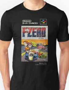F-Zero Nintendo Famicom Box Art (NES) Unisex T-Shirt