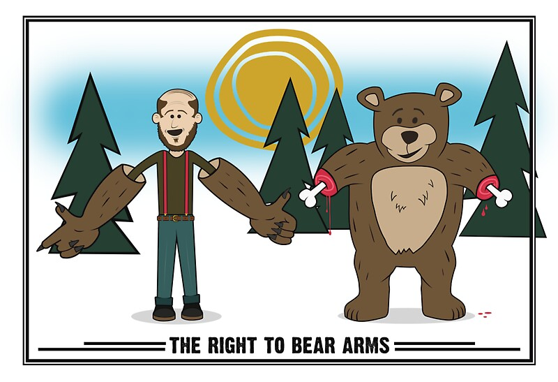 """Right To Bear Arms"" Posters by Mallywood 