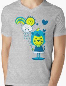 Brighter Day Mens V-Neck T-Shirt