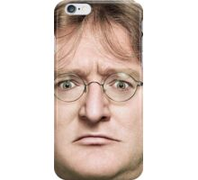 Gabe Newell's Amazing Face iPhone Case/Skin