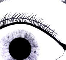 Inky Tear Sticker