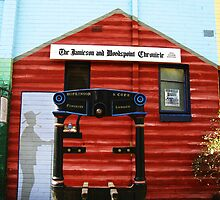 The Jamieson and Woodspoint Chronicle Mural by Marilyn Harris