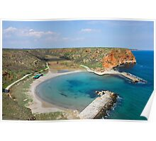 Small Peaceful Beach On Bulgarian Black Sea Coast Poster
