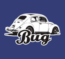 Retro BUG T-Shirt 2 Color by MILK-Lover