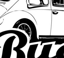 Retro BUG T-Shirt 2 Color Sticker