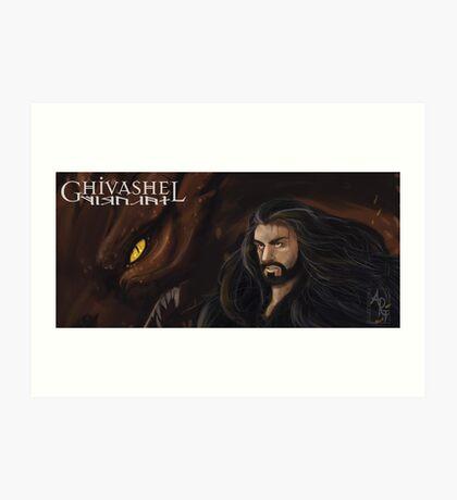Ghivashel Art Print