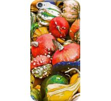Gourds at the Farmers Market iPhone Case/Skin