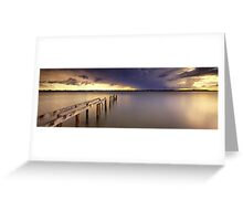 Cleveland Point Jetty Greeting Card