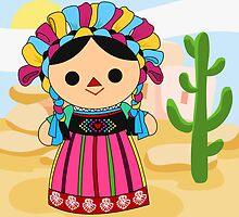 Maria 3 (Mexican Doll) by alapapaju