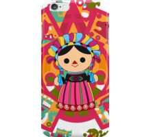 Maria 3 (Mexican Doll) iPhone Case/Skin