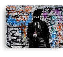 the crayola grafitti bandit   Canvas Print
