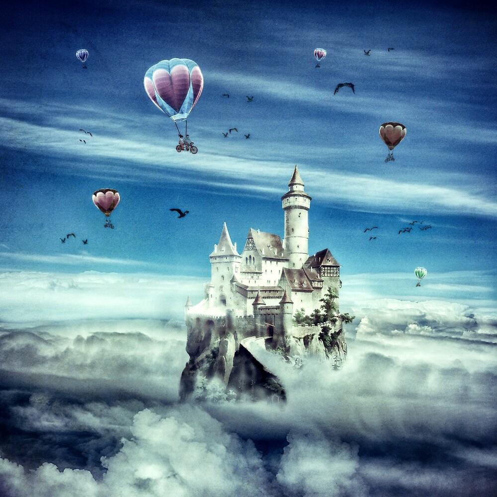 Laputa - Castle in the Sky by Paula Belle Flores