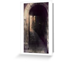 Nocturne Alley Greeting Card