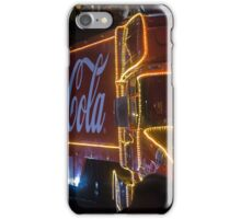 Coca Cola Truck, Glasgow iPhone Case/Skin