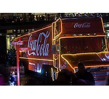 Coca Cola Truck, Glasgow Photographic Print
