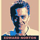 Edward Norton by sgrixti