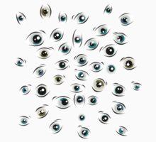 Eyes One Piece - Short Sleeve