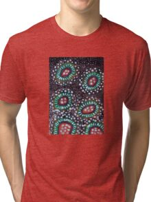 Snow Flowers Tri-blend T-Shirt