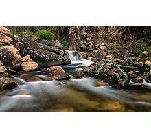 East Kiewa River Photographic Print