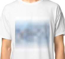 Blurred christmas background Classic T-Shirt