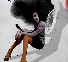 the odd bird girl by Loui  Jover