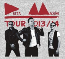 Depeche Mode : Tour 2013/14 Delta Machine and an official photo by Luc Lambert