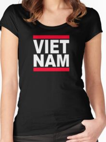 Vietnam Women's Fitted Scoop T-Shirt